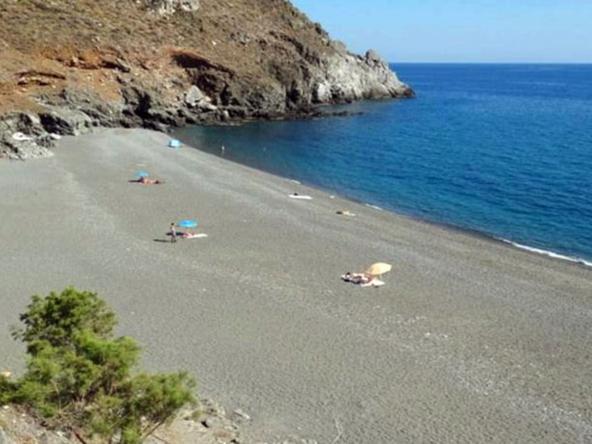 diskos beach crete greece